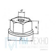 Гайка Шестигранная М6х11 D16мм с буртиком