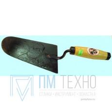 Кельма каменщика КБ 170х120 мм с деревянной ручкой