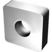 Пластина SNUA  - 120404  К20 квадратная dвн=5мм (03113) гладкая с отверстием