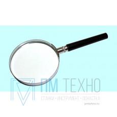 Лупа ручная круглая 2.5х-60мм в металлической оправе