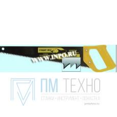 Ножовка 400мм универсал. шаг 4,5мм с пластмассовой ручкой, скош. полотно
