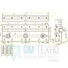 Плита Прямоугольная 180х 90х30 с Т-образным пазом 12мм (ДСП-36) (восстановленная)