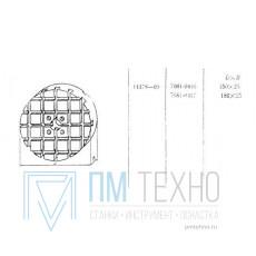 Плита Круглая d 150х 25 с Т-образными пазами 8мм (7081-0416) ГОСТ 14378-69 (восстановленная)