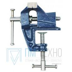 Тиски Слесарные   25 мм неповоротные настольные, крепление струбциной (36000)