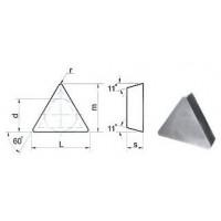 Пластина TРGN  - 110300  Т15К6(Н10)  трехгранная (01331) гладкая без отверстия