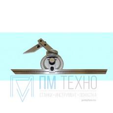 Угломер 0-360° универсальный оптический цена дел.5 мин. нержавеющая сталь