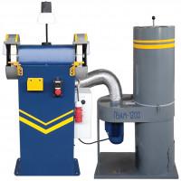 Станок точильно-шлифовальный ТШ-2Р-П (с пылесосом)